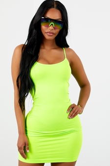 Picture of Neon Green Bodycon Dress