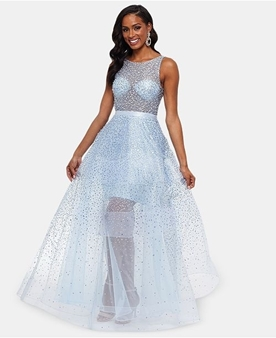 Picture of Glitter Mesh Ball Gown