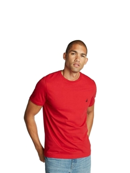 Picture of Red Nautica Crew Neck T Shirt